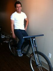 Engineer Greg Loreti uses EcoPoxy epoxy systems to produce bicycles made of denim! His Jeans, Engineer, Bicycles, Epoxy, Denim, Bike, Bicycle, Biking, Jeans