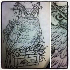 Owl for today. Gonna be fun!!! - @daveolteanu- #webstagram