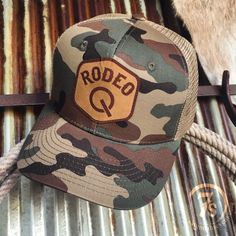 edbb2fa16e189 Camo and ball caps just scream the weekend! And we can t get enough of this  Rodeo Quincy cap