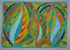 Zen doodle quilt