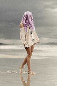 Lilac Beach Hair