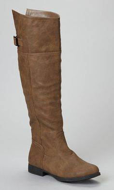 Cognac Land Knee-High Boot