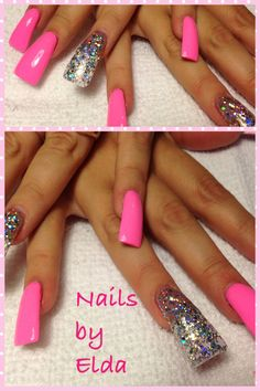 Chalky pink-duck tips