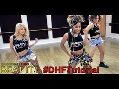Dancehall Funk | How To Dance - Beat It by Sean Kingston ft Chris Brown | Dance Tutorial (Beginner) - YouTube