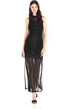 1318dc34b4 MINKPINK Women s Meshed Up Maxi Dress
