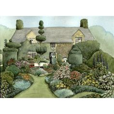 English Country Garden By Jane Kay Mini Gallery