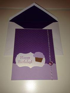 Birthday card inspired by Soapbox Designs.