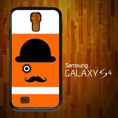 SA2021 A Clockwork Orange Monocle Mustache Samsung Galaxy S4 Case | statusisasi - Accessories on ArtFire