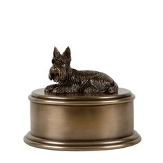 Perfect Memorials Scottish Terrier Figurine Cremation Urn * See this awesome image  : Cat Memorials