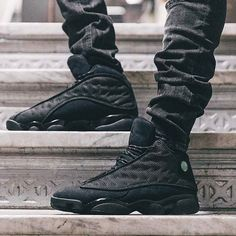 "The Air Jordan 13 ""Black Cat"" releases to our store tomorrow #BeElite #SHOPatSPZN pic via @lesitedelasneaker"