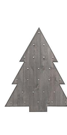 Plywood tree.