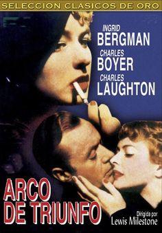 Arco de triunfo (1948) EEUU. Dir: Lewis Milestone. Drama. Cine negro. Nazismo - DVD CINE 644