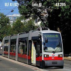 Die Kurz-ULFe vermehren sich am 40er. So waren gestern 3 A1 und 2 Hochflurer unterwegs.  63 steht in der Haltestelle Herbeckstraße.  #wienerlinien #wien #bim #strassenbahn #niederflur #ULF #Type_A1 #ULF_A1 #Linie_40 #Linie40 #40er #Gersthof #Herbeckstraße #öpnv #öffentlicherverkehr #tram_pictures