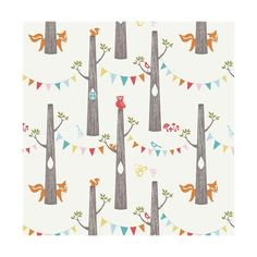 Crib Sheet Organic Crib Bedding Woodland Party Circa 52 Birch Fabrics... (€47) ❤ liked on Polyvore featuring home, children's room, children's furniture, nursery furniture, bedding, black and home & living