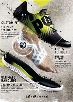 Reebok Zpump Fusion-absolutely love these shoes! Shoes Ads, Shoes Sneakers, Futuristic Shoes, Futuristic Technology, Shoe Advertising, Advertising Design, Sport Fashion, Mens Fashion, Sneakers Sketch