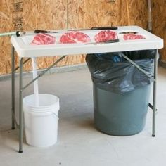 Butchering table