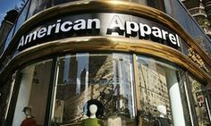 American Apparel store in New York