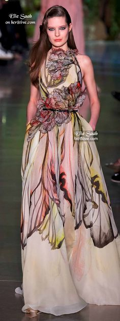 Elie Saab Spring 2015 Couture. For more follow www.pinterest.com/ninayay and stay positively #inspired