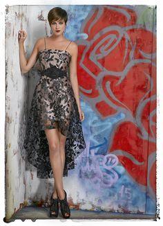 NachoB016_5366_0001 Nachos, Glamour, High Low, Strapless Dress, How To Wear, Beauty, Dresses, Madrid, Fit