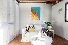 Una casa de cuento - AD España, © Lupe Clemente Spanish Style, Oversized Mirror, Furniture, Artists, Home Decor, Entrance Gates, Decoration Home, Room Decor, Home Furnishings