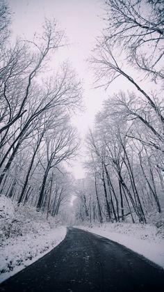 #road #cold #winter 💟❄️
