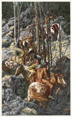Judy Larson Signed Numbered Nine to Five Native American Print Framed Native American Artwork, Native American Artists, American Indian Art, American Indians, American Pride, Paintings I Love, Indian Paintings, Horse Paintings, Bev Doolittle Prints