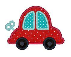 Car Applique Machine Embroidery Design-INSTANT DOWNLOAD