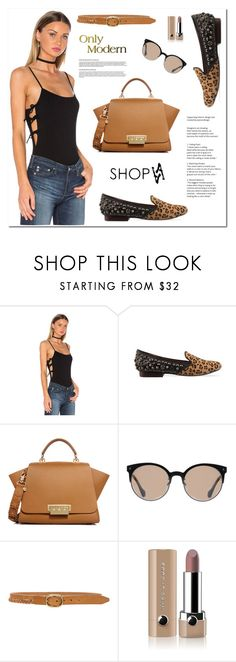 """""""Only Modern / Shopaa 5"""" by sabinakopic ❤ liked on Polyvore featuring Jeffrey Campbell, ZAC Zac Posen, Balenciaga, rag & bone, Marc Jacobs and modern"""