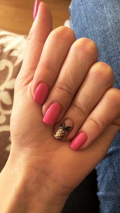 Summer pineapple nails #nails #summer #summernails #pineapplenails #nailsart
