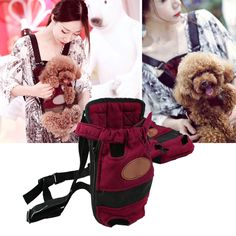 High Quality Pet Travel Carrier Front Carrier Mesh Dogs and Cats Bag Folding Portable Breathable Outdoor Carrier Pet Bag S/M/L