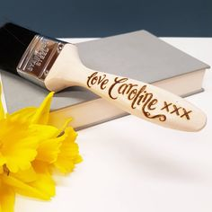 Excited to share the latest addition to my #etsy shop: Personalised Paint Brushes #personalised #paintbrush #fathersday #wooden #anniversary #gift #calligraphy #daddy #husband #boyfriend http://etsy.me/2FMNl18