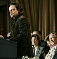 Bono's speech to National Prayer Breakfast. One of the best speeches I've heard.