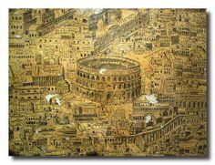 Cesena - antica mappa di Roma - ancient map of Rome   #TuscanyAgriturismoGiratola