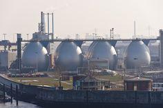 In unseren #Faultürmen vom #Klärwerk #Köhlbrandhöft erzeugen wir unser #Biogas. Mehr dazu: http://www.hamburgenergie.de/geschaeftskunden/energieerzeugung/biogas/ #hamburg #hafen #biogas #hamburgenergie