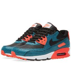 reputable site 53569 2b2b7 Nike Air Max 90 Anniversary  Infrared Snake  (Dusty Cactus, Black   Infrared