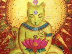 Os gatos veem muito além de nossos sentidos. Entre suas horas de sonecas e seus momentos de brincadeiras e exploração, olham nossas almas com seu olfato refinado. Aliviam tristezas e nos preenchem com seus nobres e reluzentes olhares.