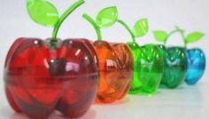 Plastic Bottle Flowers, Plastic Bottle Crafts, Recycle Plastic Bottles, Soda Bottle Crafts, Soda Bottles, Recycled Bottles, Recycled Crafts, Diy And Crafts, Crafts For Kids