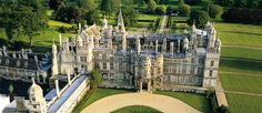 Stamford:  Burghley House, widely regarded as the grandest house of the first Elizabethan age.  Building started in 1555.  Opens for the season on March 16 at 11:00 a.m.  We should visit prior to having tea at The George.  Adult: £12.70  Senior: £11.50