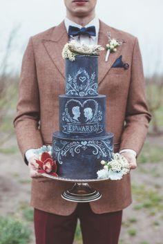 Groom's Cake Ideas for your Wedding | Bridal Musings Wedding Blog