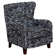 Chanel Occasional Chair Fabric French Black