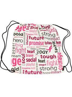 """Encouraging Words"" Cinch Bag at Shop3Day.com"