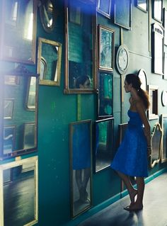Blue and Mirrors, all me.