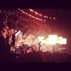 Radiohead in Melbourne  Photo by samreynolds