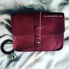 Autumn Crossbody Pouch In Deep Berry Autumn Pouch Crossbody bag with removable strap. Deep berry color. Also available in brown in my store. 8.5 x 7 x 2 inches with a strap drop up to 22 inches. Will fit your smart phone and all your goodies. 📱 Same day shipping on all orders plus save 15% when you bundle 3 or more items. No trades. 📦 Bags Crossbody Bags