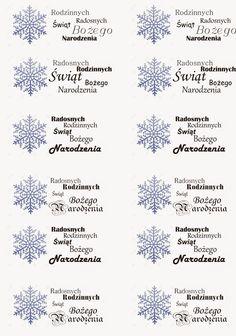 W kąciku przy maszynie: Grafika za free - napisy na Boże Narodzenie Christmas Mini Sessions, Christmas Minis, Christmas Time, Christmas Crafts, Polish Christmas, Christmas Card Images, Printable Paper, Scrapbooking, Cardmaking