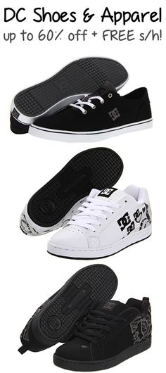 DC Shoes and Apparel  up to 60% off + FREE Shipping!!   66c3c611c8dd7