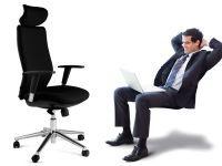 VELA KONTORSTOL. En god kontorstol er viktig – mange tilbringer en tredjedel av døgnet sittende på den. Sittehøyde, ryggstøtte, vinkel og høyde på armlener og nakkestøtte – alt dette er individuelt og må tilpasses den enkelte bruker. Eco, Vela og Omega er alle gode alternativer med alle ergonomisk viktige tilpasninger og innstillinger tilgjengelige.