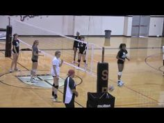 Volleyball Setting Drill Figure 8 - YouTube