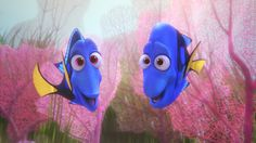 Finding Dory - Dory's parents Jenny and Charlie