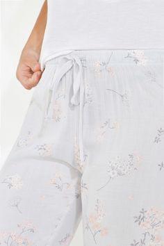 Flowery long pyjama | Long pyjamas | Women'secret